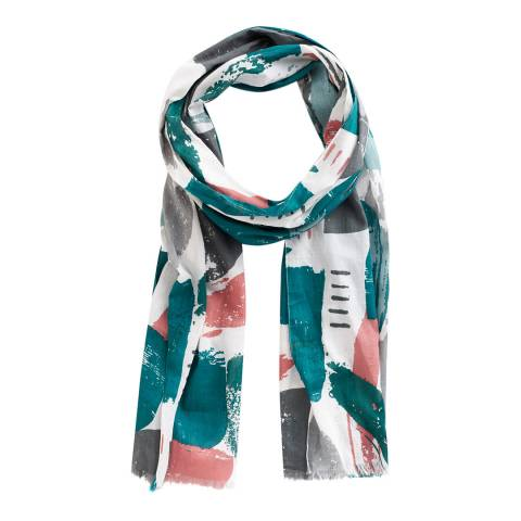 Seasalt Multi Print Process New Everyday Scarf
