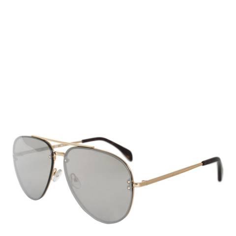 Celine Women's Gold/Silver Aviator Sunglasses 60mm
