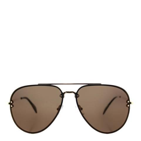 Celine Women's Brown/Gold Aviator Sunglasses 58mm