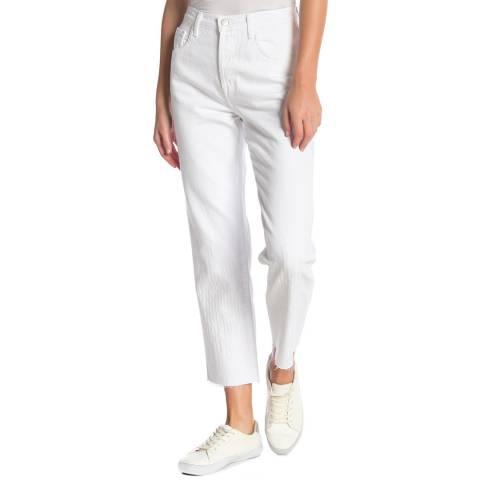 J Brand Grey Wynne Straight Jeans
