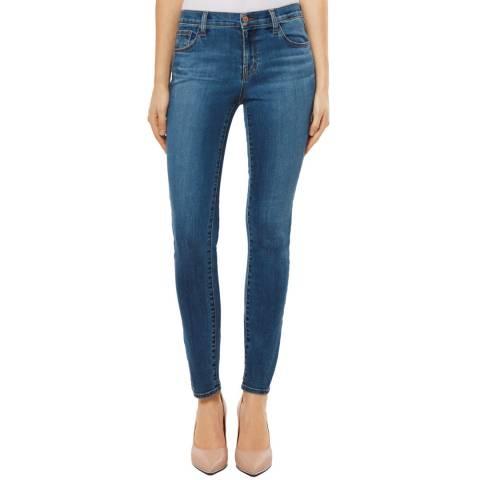 J Brand Blue 811 Skinny Stretch Jeans