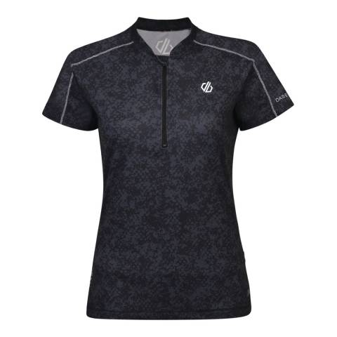 Dare2B Black Theory Jersey Cycle Top