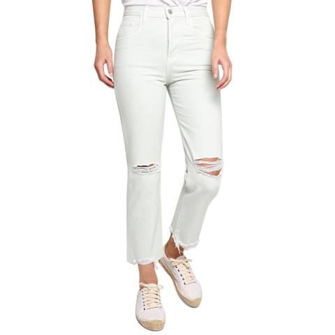 J Brand Mint Wynne Straight Jeans