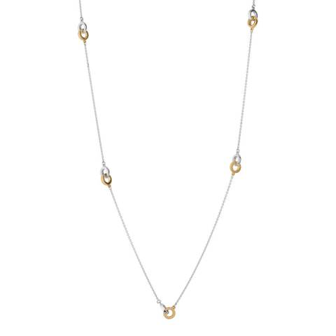 Links of London Sterling Silver & 18kt Yellow Gold Vermeil Linked Necklace