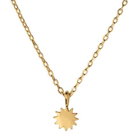 Links of London 18kt Yellow Gold Vermeil Sun Necklace