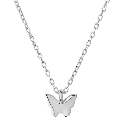 Links of London Sterling Silver Butterfly Necklace
