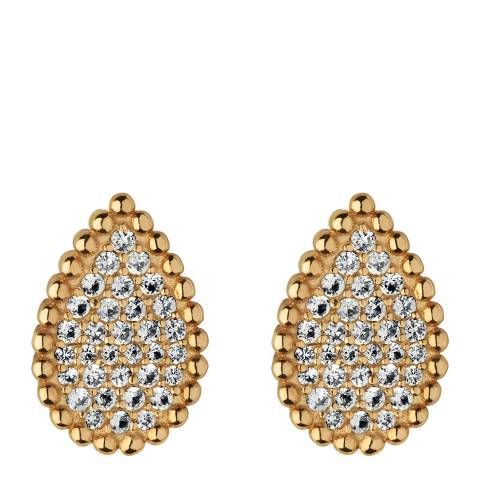 Links of London 18K Yellow Gold Vermeil Pure Drop Earrings
