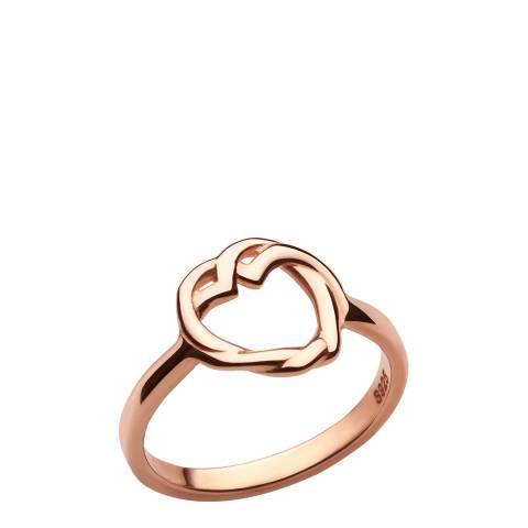 Links of London 18kt Rose Gold Vermeil Kindred Soul Ring
