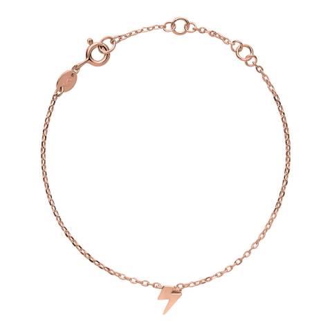 Links of London 18kt Rose Gold Vermeil Lightning Bracelet