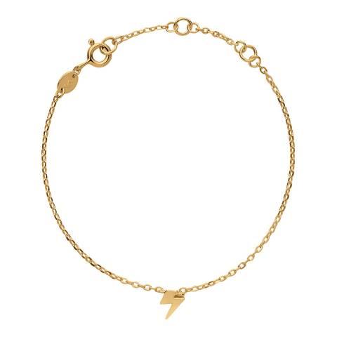 Links of London 18kt Yellow Gold Vermeil Lightning Bracelet