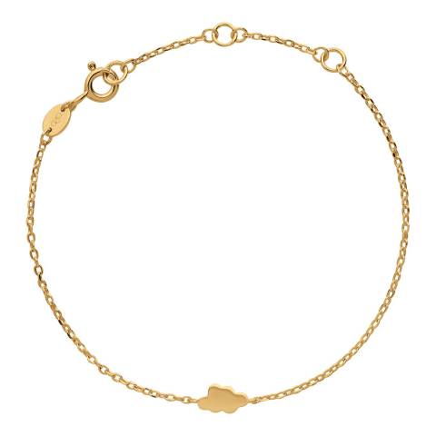 Links of London 18kt Yellow Gold Vermeil Cloud Bracelet