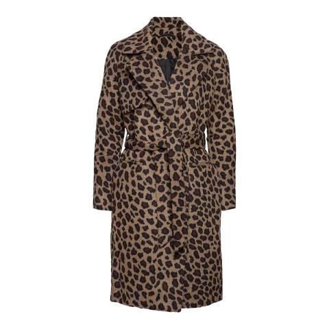 2ND DAY Leopard Print Livia Leo Coat