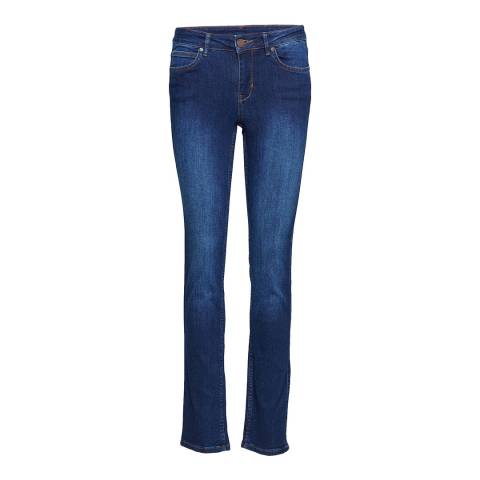 2ND DAY Indigo Sally Canyon Mid Rise Jeans