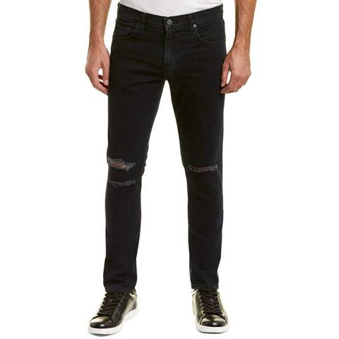 J Brand Black Mick Skinny Stretch Jeans