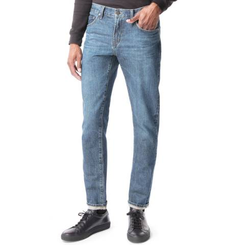 J Brand Blue Tyler Tapered Jeans