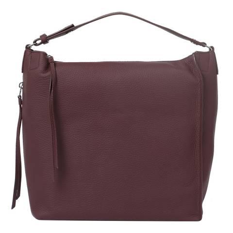 AllSaints Burgundy Red Kita Sm Backpack