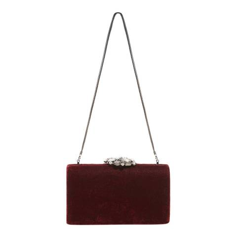 Phase Eight Juliet Clutch Claret
