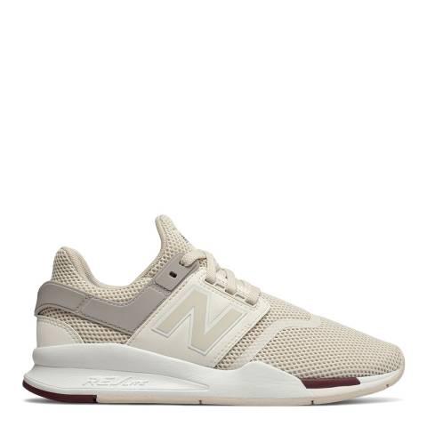 New Balance Cream & Sea Salt 247 Sneakers