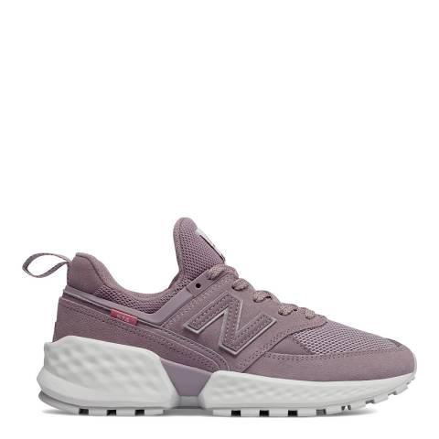 New Balance Lilac 574 Sport Sneaker