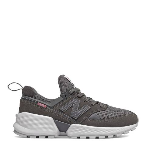New Balance Charcoal Grey 574 Sport Sneakers