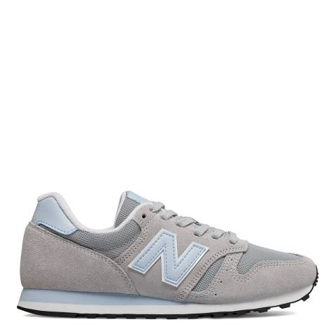 New Balance Light Aluminum & Platinum Sky 373 Sneakers