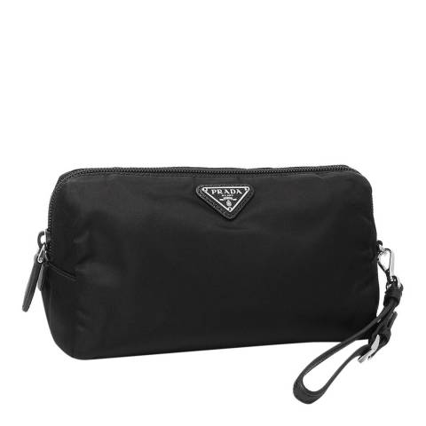 Prada Black Prada Cosmetic Bag