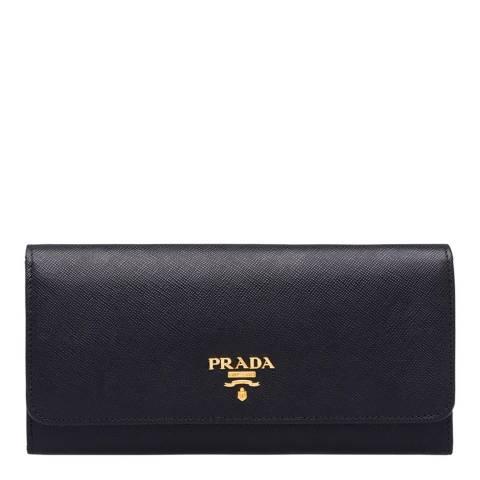 Prada Black Leather Prada Wallet