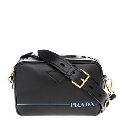 Prada Black Prada Leather Camera Bag