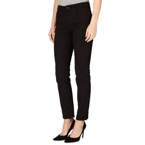 Jaeger Black Straight Stretch Jeans