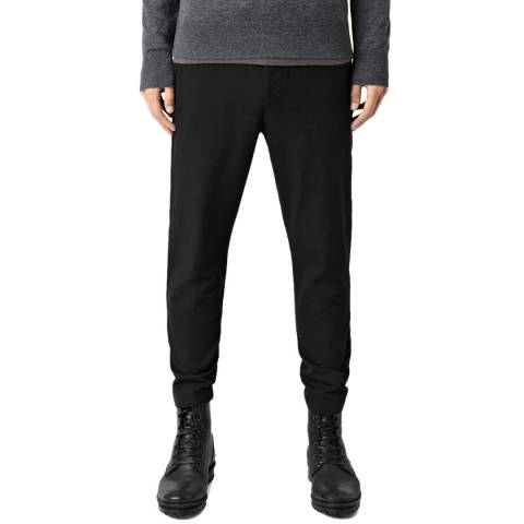 AllSaints Black Silas Trousers
