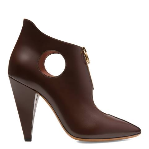 BALLY Coconut Leather Hope Heeled Bootie