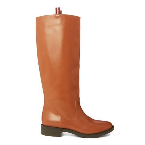 BALLY Rhum Tan Lorenzia Long Boot