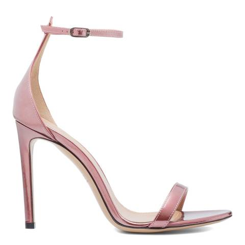 BALLY Metallic Rose Eren Heeled Sandal