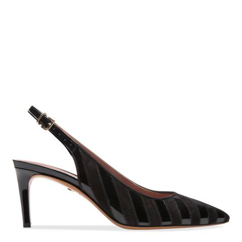 BALLY Black Patent Sakira Pump