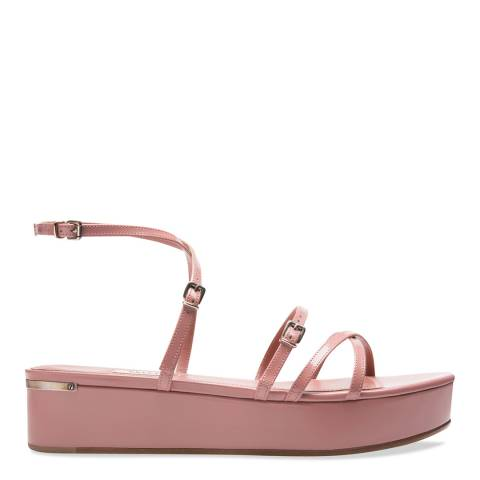 BALLY Rosehaze Blush Falida Wedge Sandal