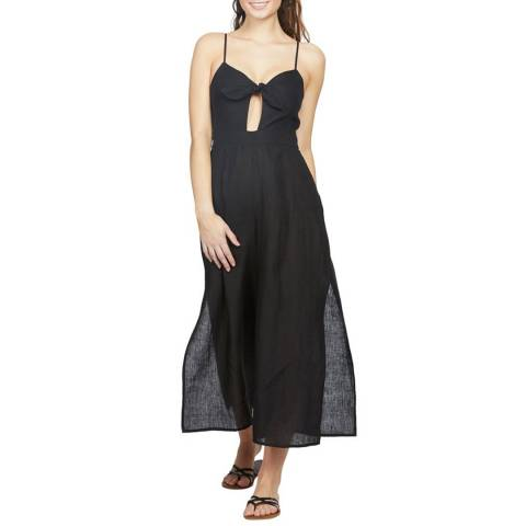 Seafolly Black Tie Front Jumpsuit
