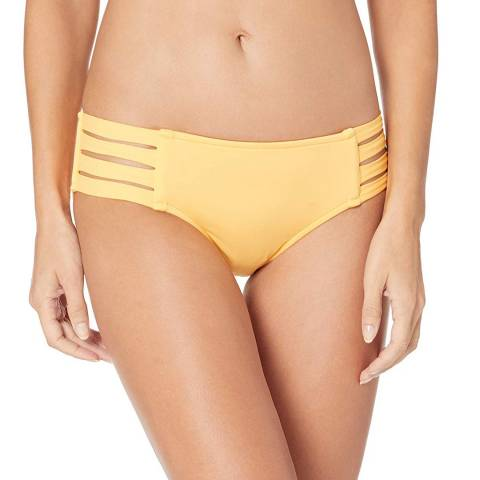 Seafolly Buttercup Yellow Active Multi Strap Hipster