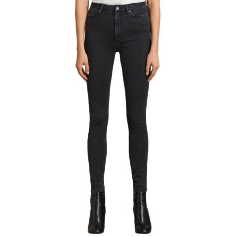 AllSaints Dark Grey Stilt Jeans