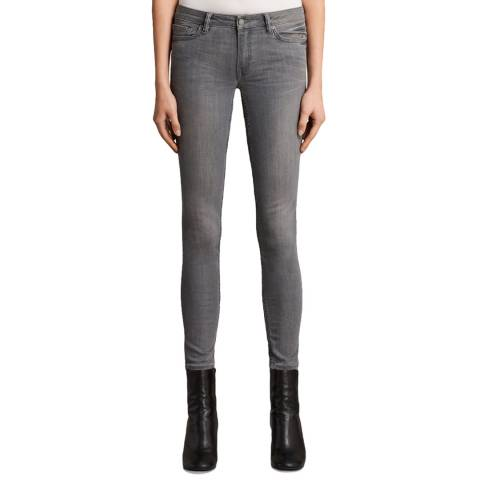 AllSaints Grey Mast Jeans