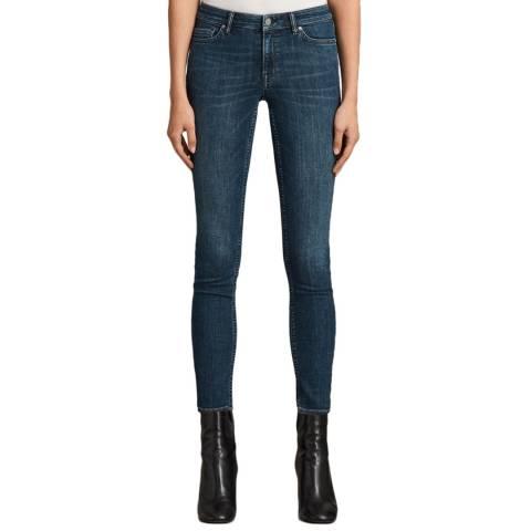 AllSaints Indigo Mast Jeans