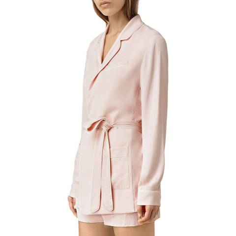 AllSaints Pink Ivana Blazer