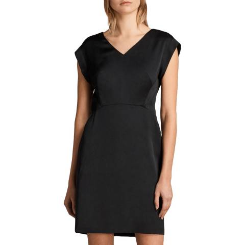AllSaints Black Elsie Dress