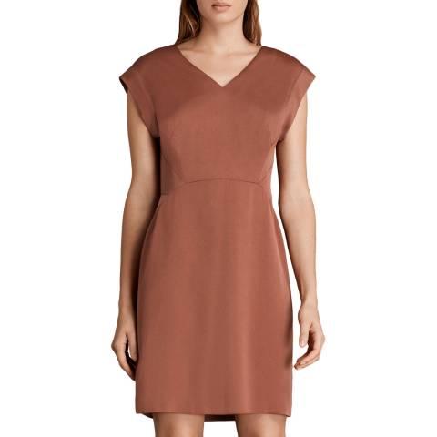 AllSaints Copper Elsie Dress