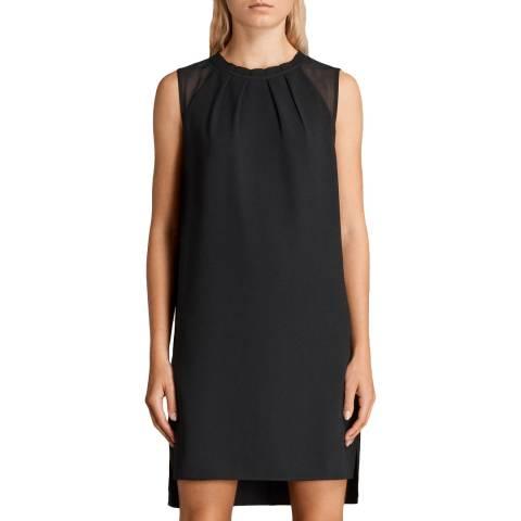 AllSaints Black Jay Dress