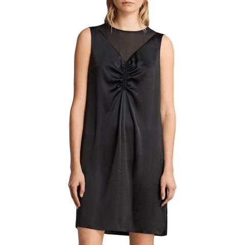 AllSaints Black Nuri Dress