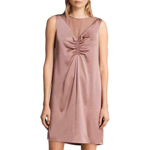 AllSaints Pink Nuri Dress