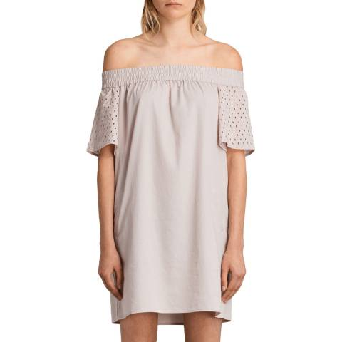 AllSaints Pink Livia  Dress