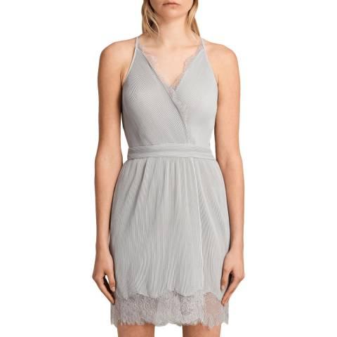 AllSaints Grey May Dress