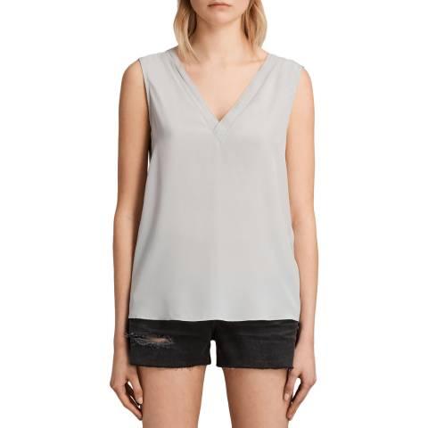 AllSaints Grey Arla Top