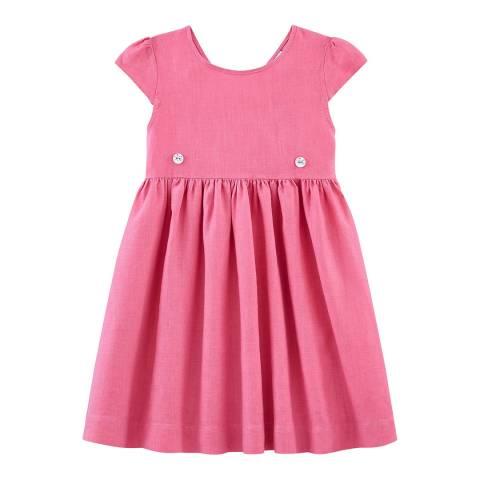 Petit Bateau Pink Linen Dress